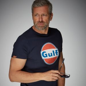 Gulf T-Shirt Dry-T bleu marine