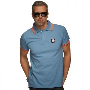 Gulf Summer Polo bleu Gulf
