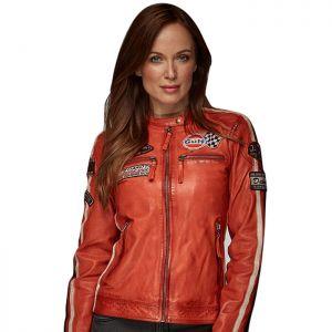 Gulf Chaqueta Racing Mujer naranja