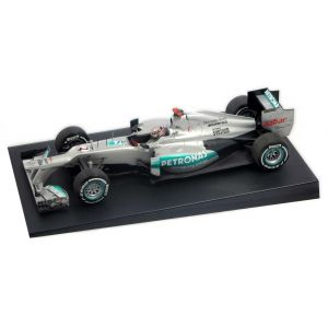 Michael Schumacher Mercedes F1 W03 300th GP SPA 2012 1:18