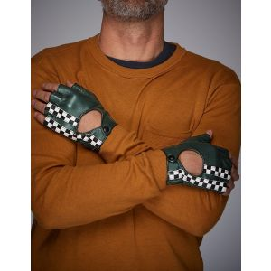 Gulf Racing Gloves Brexit green