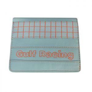 Gulf Portefeuille Racing Contraste bleu clair