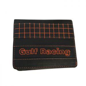 Gulf Cartera Racing Contraste negro