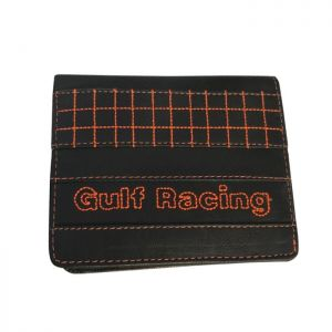 Gulf Wallet Racing contrast black