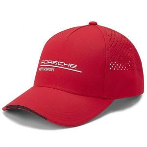 Porsche Motorsport Cap red