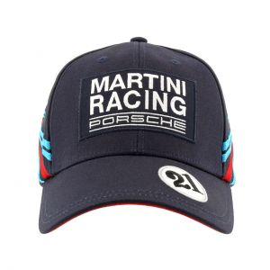 Porsche Gorra Baseball Martini Racing #21 azul oscuro