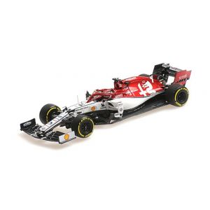 Alfa Romeo Racing C38 - Kimi Raikkkonen - 300° GP Start - GP di Monaco - 2019 1/43