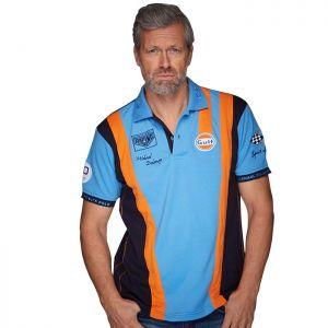 Gulf Poloshirt Racing Team cobalto