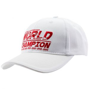 Cappellino Campione del mondo Michael Schumacher bianco