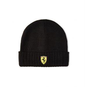Scuderia Ferrari Strickmütze schwarz