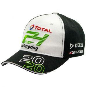 24h-Rennen Cap Fan 2020 weiß
