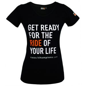 Lady T-Shirt ROC Get ready for the ride of your life