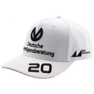 Mick Schumacher Cap 2020 white