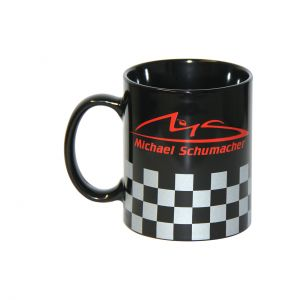 Michael Schumacher Tasse Chequered