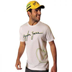 Camiseta Linias de pista Ayrton Senna