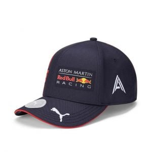 Red Bull Racing Fahrer Kinder Cap Albon marineblau