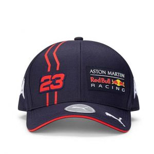 Red Bull Racing Fahrer Kinder Cap Albon marineblau