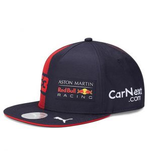 Red Bull Racing Driver Kids Cap Verstappen Flat Brim navy blue