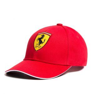 Casquette Scuderia Ferrari Classic rouge par enfant