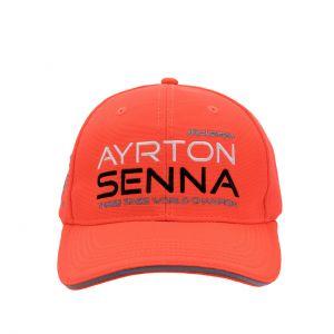 Ayrton Senna Cappello McLaren Tre volte Campione bambini