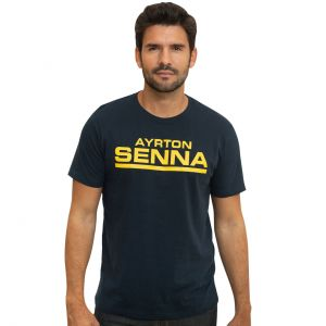 Ayrton Senna T-Shirt Racing 12