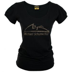 Michael Schumacher Ladies Top Logo