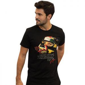 Camiseta Ayrton Senna T-Shirt Designed To Win