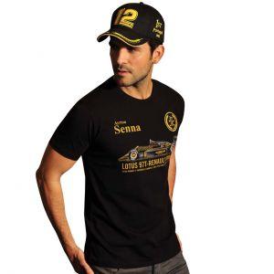 Camiseta Ayrton Senna !a Victoria en Portugal