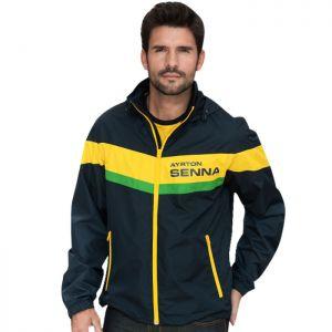 Ayrton Senna giacca a vento Racing