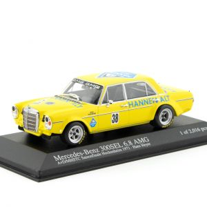 Mercedes 300 SEL 6.8 H. Heyer AvD/MHSTC Final de temporada Hockenheim 1971 1/43