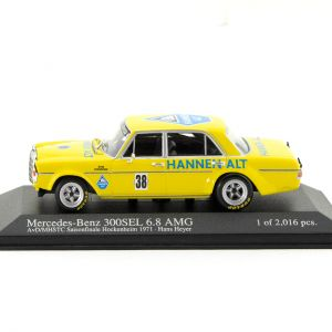 Mercedes 300 SEL 6.8 H. Heyer AvD/MHSTC Saisonfinale Hockenheim 1971 1:43
