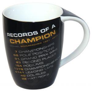 "Michael Schumacher Tasse ""Records of a Champion"""