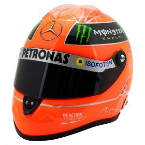 Michael Schumacher Casco Finale GP Formula 1 2012 1:2
