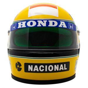 Ayrton Senna Casque 1990 Échelle 1:2