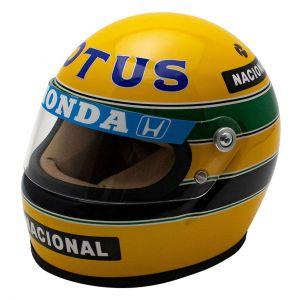Ayrton Senna Helmet 1987 Scale 1:2