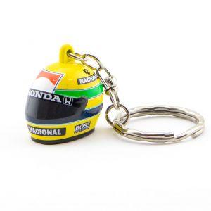 Ayrton Senna 3D llavero casco 1988