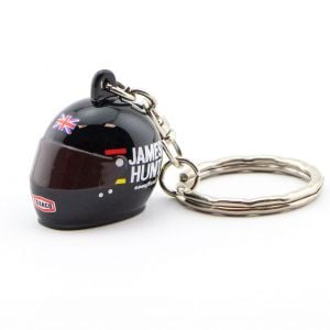 James Hunt Keyring 3D Helmet 1976