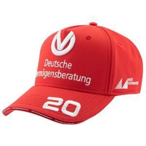 Mick Schumacher Cap Weltmeister 2020 rot