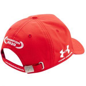 Mick Schumacher Cappello Campione del mondo 2020 rosso