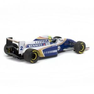 Ayrton Senna Williams Renault FW 16 Minichamps back