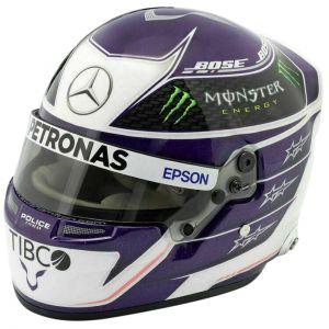 Lewis Hamilton miniature helmet 2020 1/2