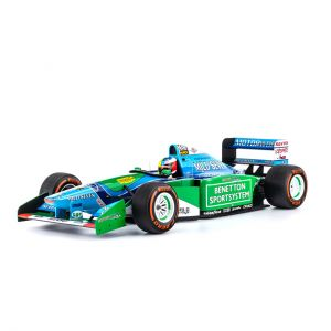 Mick Schumacher Benetton Ford B194 Demo Run Belgien GP 2017 1:8