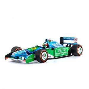 Mick Schumacher Benetton Ford B194 Giro di prova Belgio GP 2017 1/8