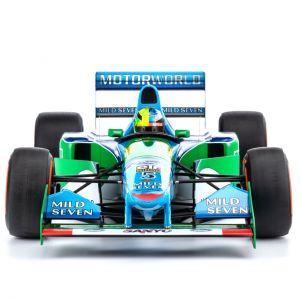 Mick Schumacher Benetton Ford B194 Demo Run Belgien GP 2017 1/8