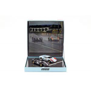 2-Car Set Ford GT40 MK II #2 #1 Gewinner und 2. Platz 24h LeMans 1966 1:43