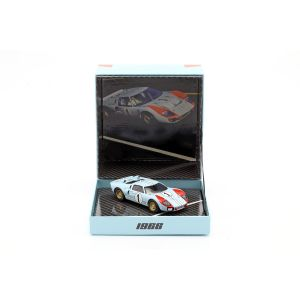 Ford GT40 MK II #1 2nd 24h LeMans 1966 1:43 Box