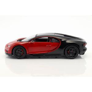 Bugatti Chiron Sport 16 rojo/negro 1/18