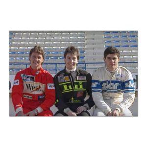 Sauber-Mercedes C9 #2 Test des juniors Schumacher, Wendlinger, Frentzen 1/18
