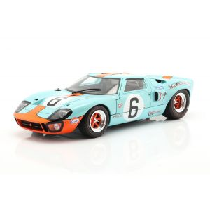 Ford GT40 MK1 #6 ganador 24h LeMans 1969 Ickx, Oliver 1/18