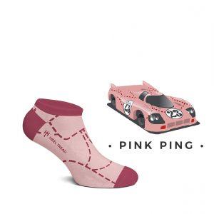 Pink Pig Sneaker Socken